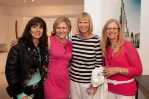 Members of the IFDA Southern California chapter enjoying the Take A Seat gala.