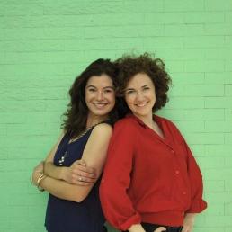 Claire Russo and Liza Serratore