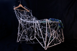 Tracy Steele - Clothes Hanger Chair