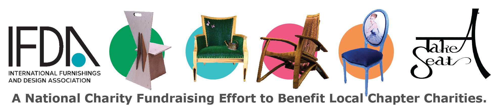 Ifda Take A Seat Design Exhibition Benefiting Local Heroes Charities