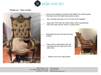 1 Bella Interiors IFDA Take a Seat!