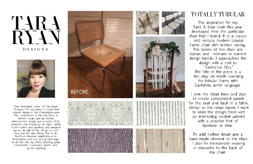 1-Tara McGeehan Take A Seat Design Board